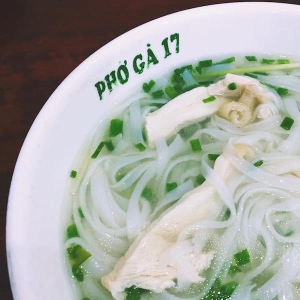 Pho in Hanoi Vietnam