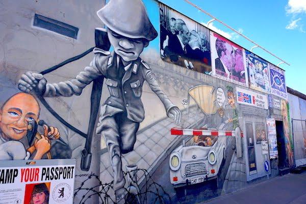discovering Berlin street art
