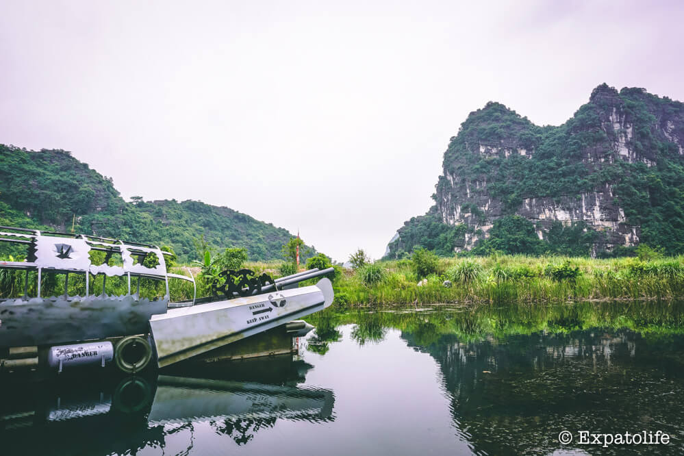 the boat and nature