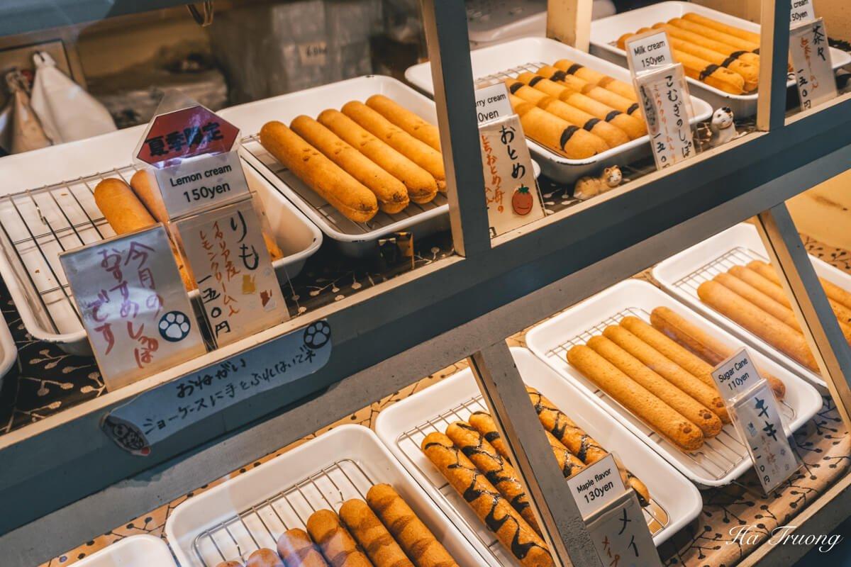 street food in Tokyo Japan