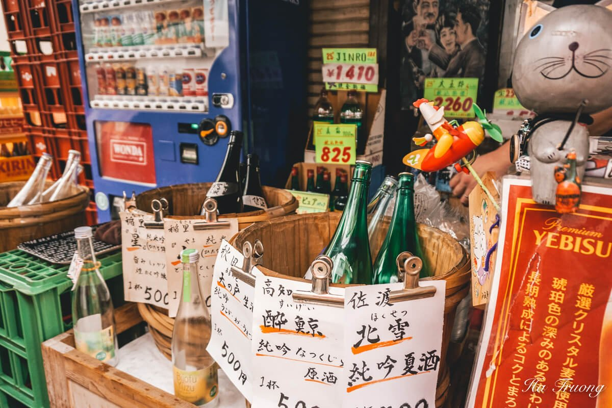 Japanese sake things to do in Japan