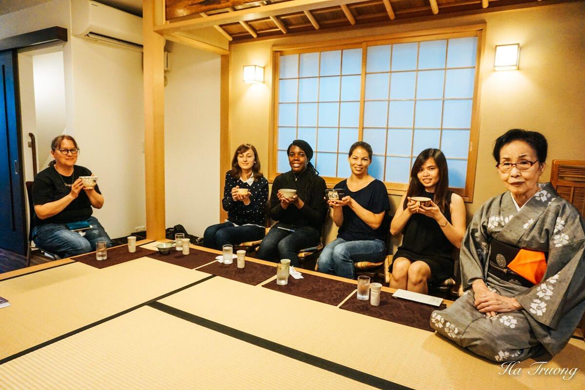 Japanese tea ceremony Tokyo food tour