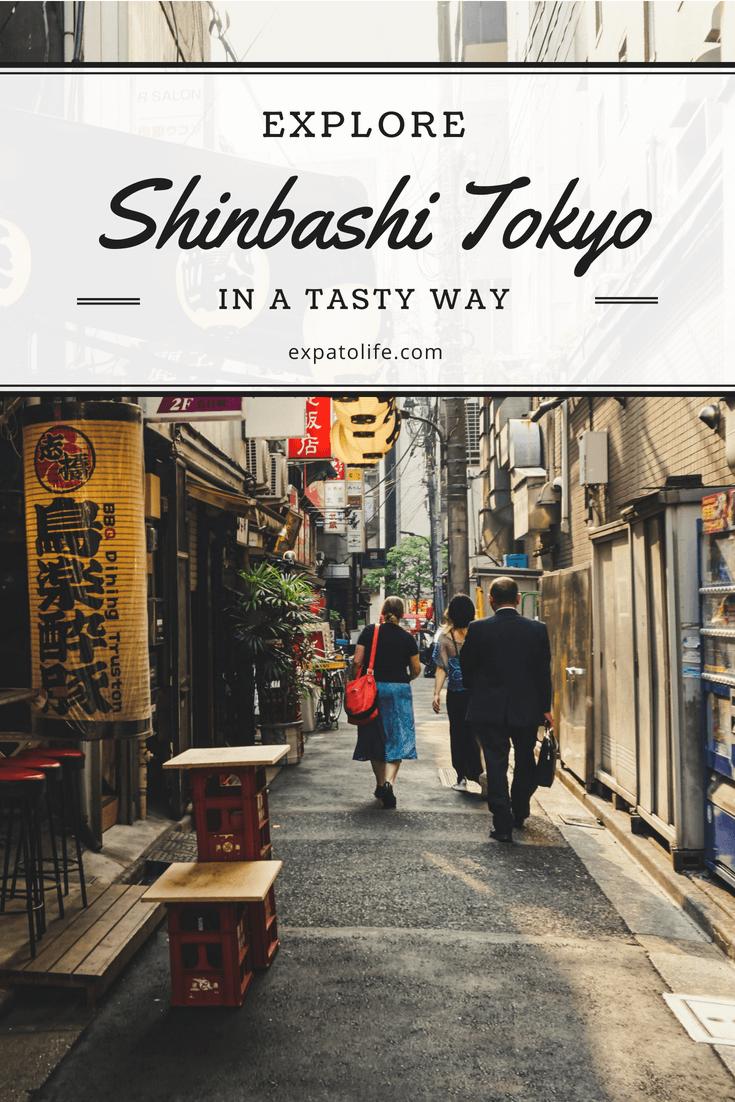 Shinbashi Tokyo Food Tour.