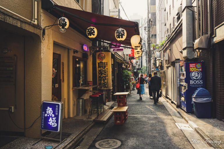 Shinbashi Tokyo food tour