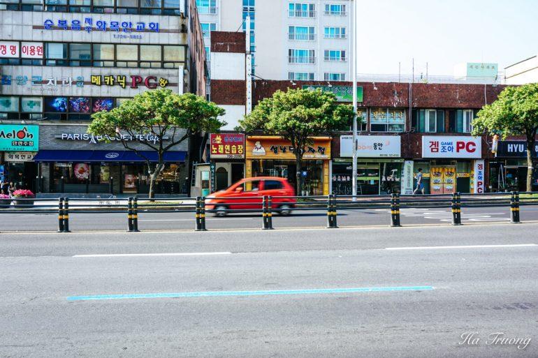 getting around jeju island south korea