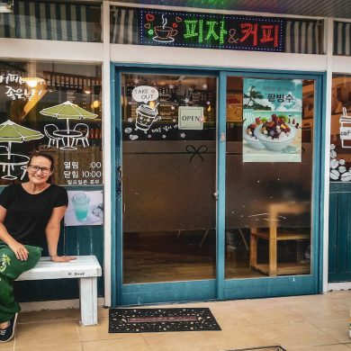 expat living on Ulleungdo Island South Korea