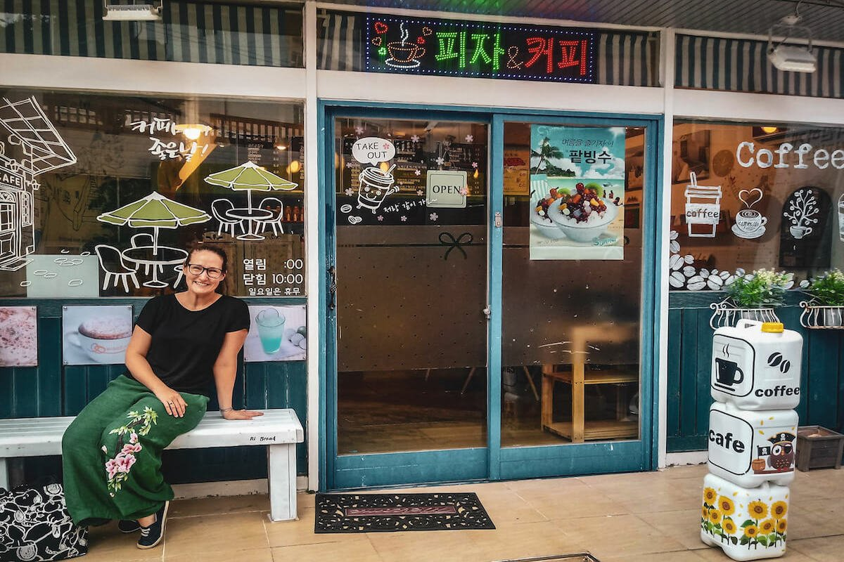 coffee shop in South Korea