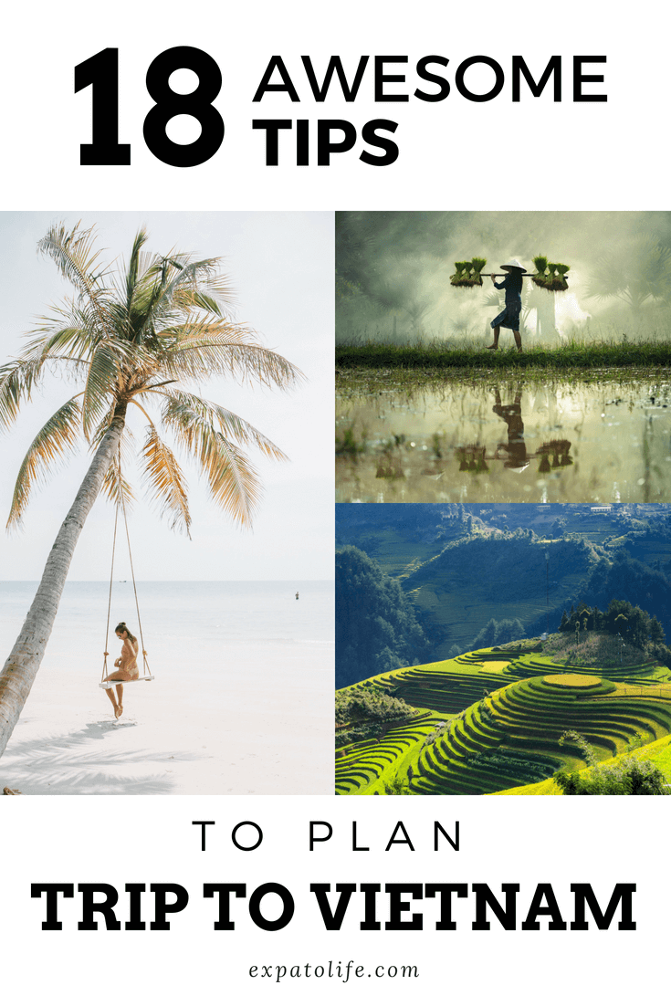 Traveling to Vietnam soon? Does Vietnam travel planning take so much of your time and effort? Our Vietnam Travel Planner will guide you step-by-step on how to plan a trip to Vietnam. From choosing places to visit in Vietnam, booking hotels in Vietnam, flights to Vietnam, to finding what to eat in Vietnam and Vietnam tours, you can find all tips for Vietnam trip.  #Vietnam #Vietnamtours #TravelVietnam #Vietnamtrip #AsiaTravel #asia #travelguides