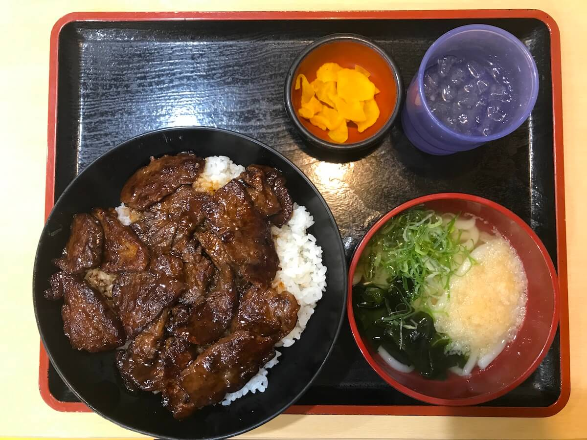 where to eat in Beppu - Udon Beppu restaurants