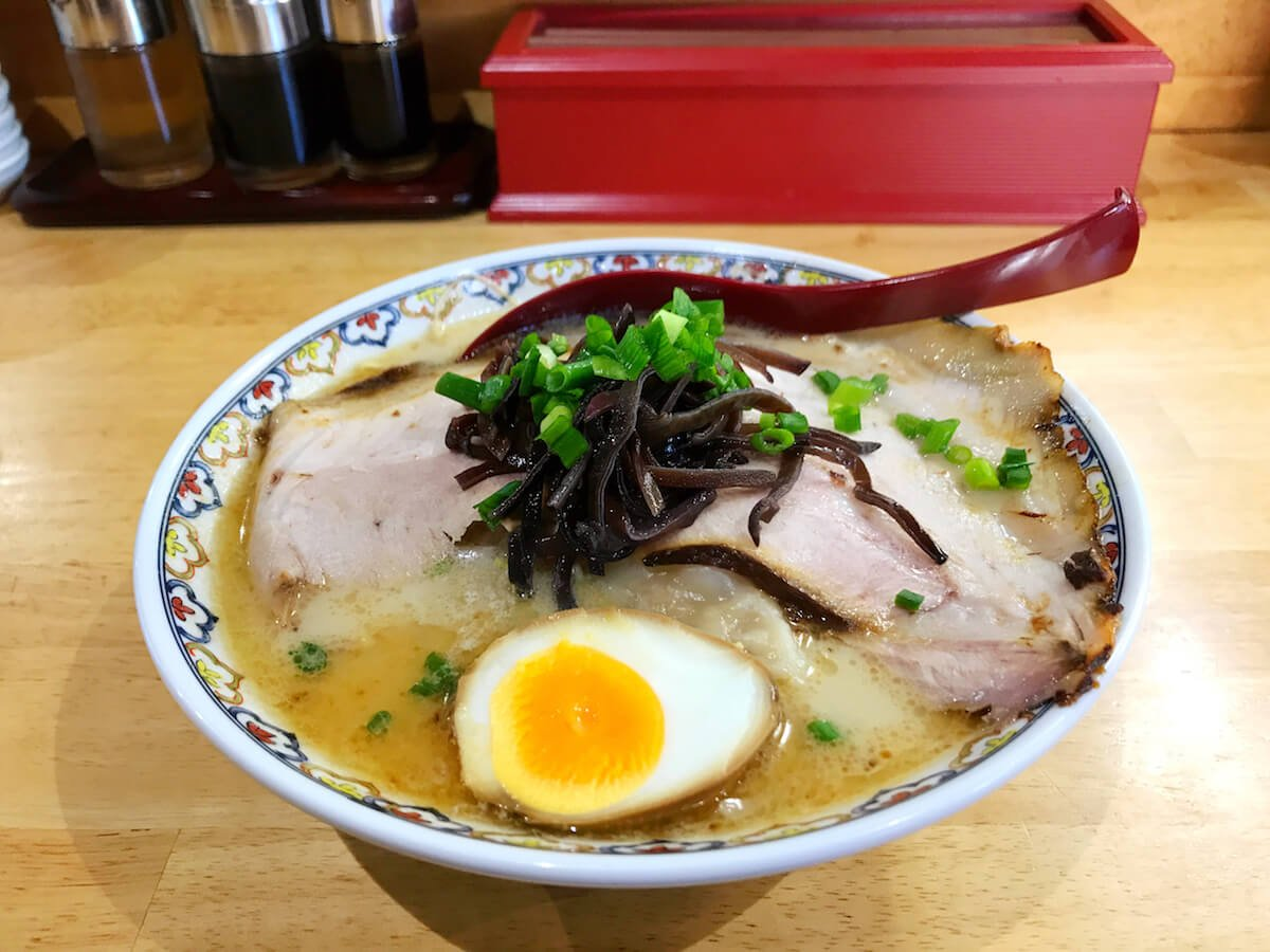 best places to eat in Beppu ramen
