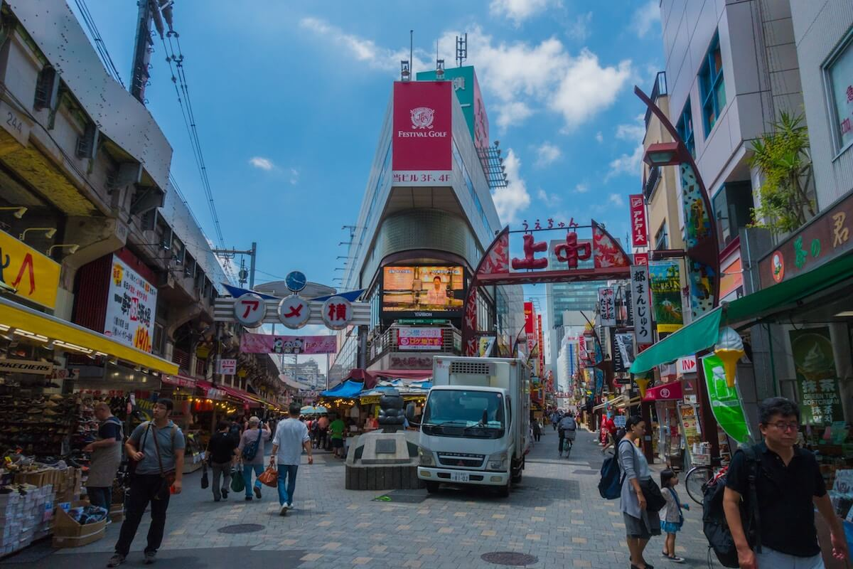 best places to go shopping in Tokyo on a budget