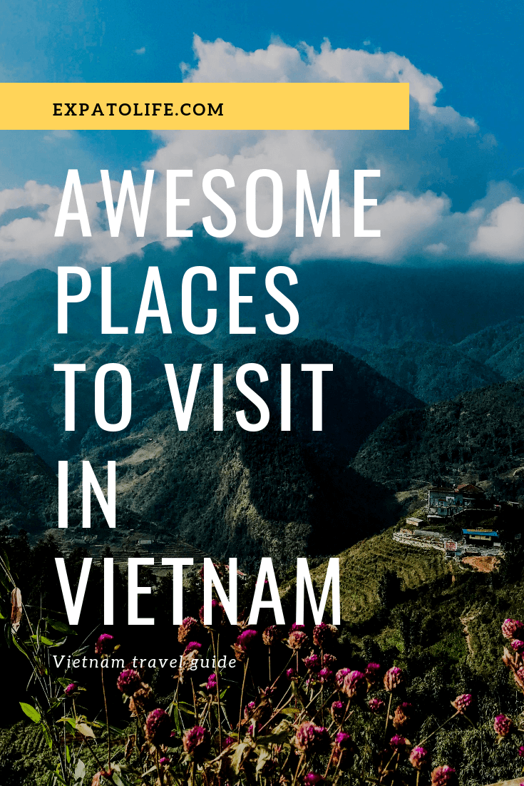 Traveling to Vietnam soon? Where are the best places to visit in Vietnam? From the North of Vietnam with majestic mountains and beautiful bays to the floating markets in the South of Vietnam, read Vietnam travel tips in this Vietnam itinerary to know the best places to travel in Vietnam from North to South Vietnam. #Vietnam #Vietnamtours #TravelVietnam #Vietnamtrip #AsiaTravel #asia #travelguides