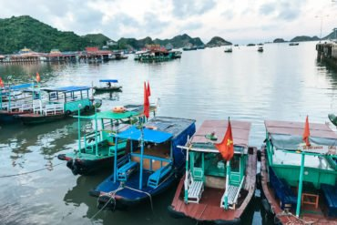 how to get from Hai Phong to Cat Ba island by ferry speedboat