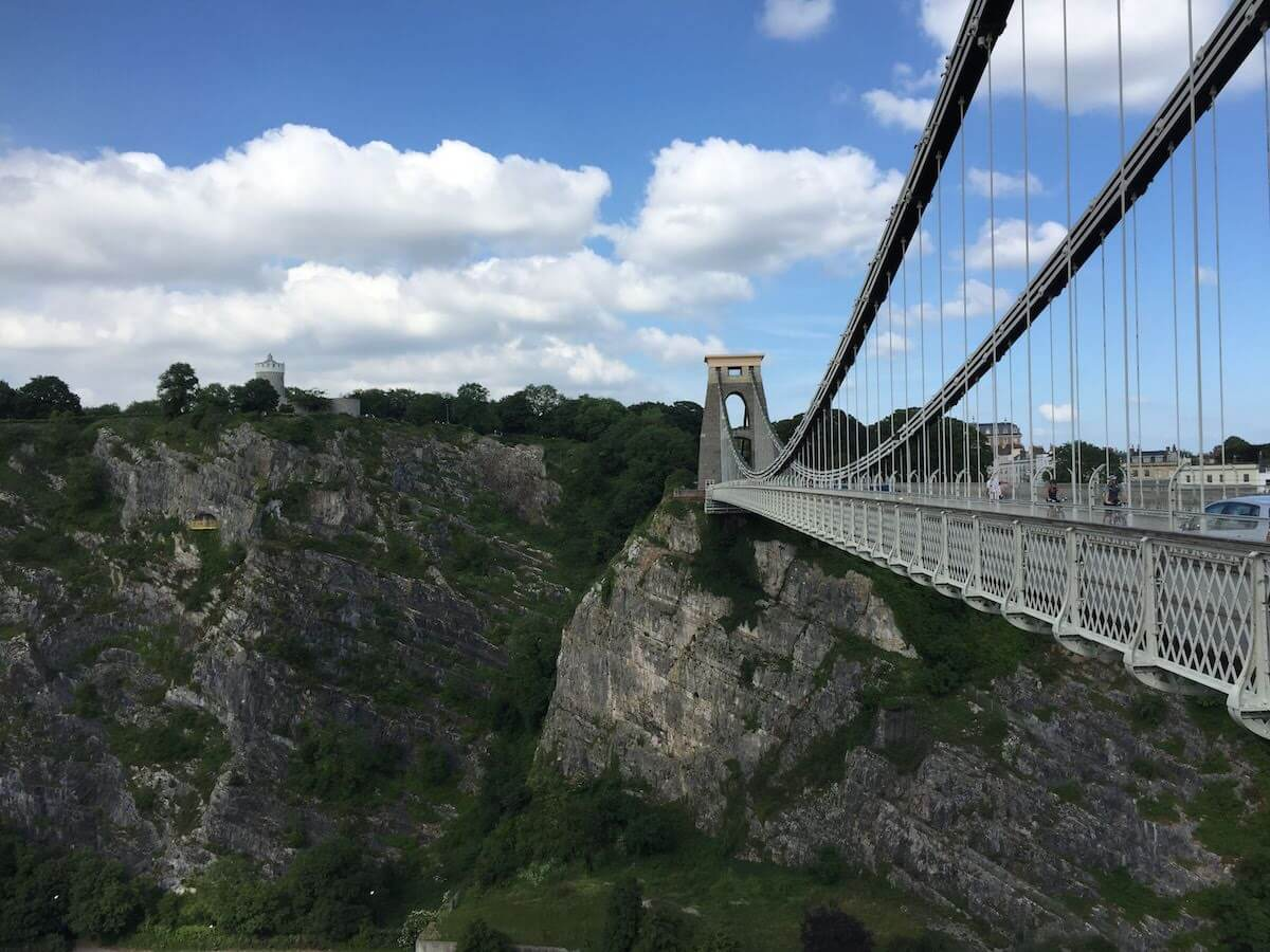 best places to visit in Bristol Clifton Suspension Bridge