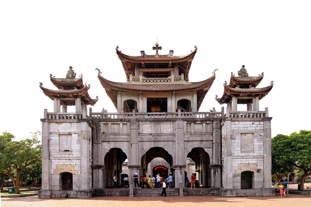 best places to visit in Ninh Binh Phat Diem cathedral