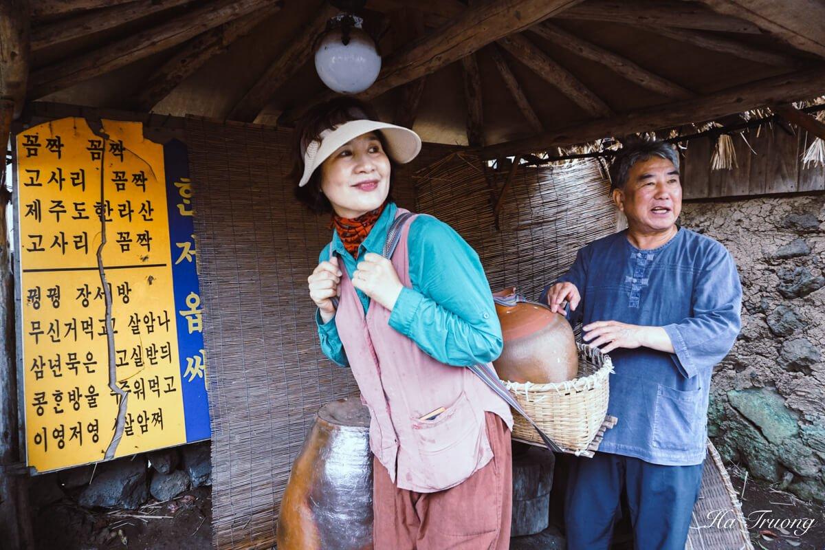 Folk village Jeju island