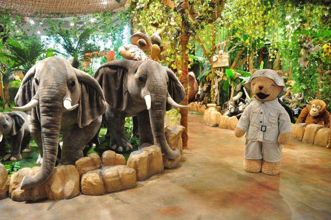 Teddy bear museum jeju Korea.