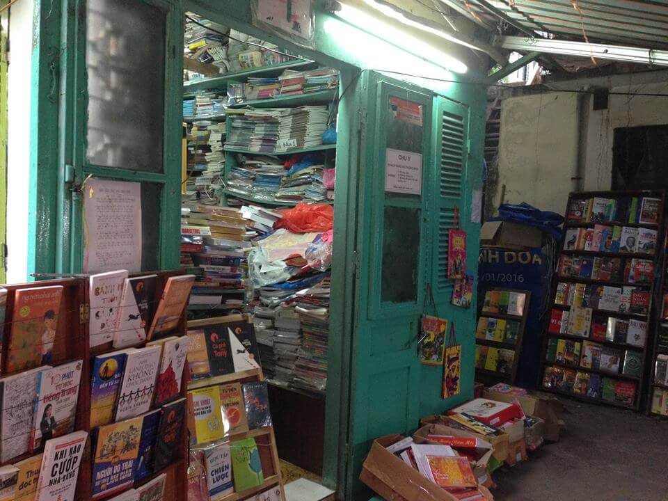 best book store in Hanoi Vietnam