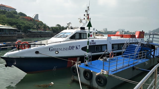 Ho Chi Minh to Vung Tau by Greenlines ferry