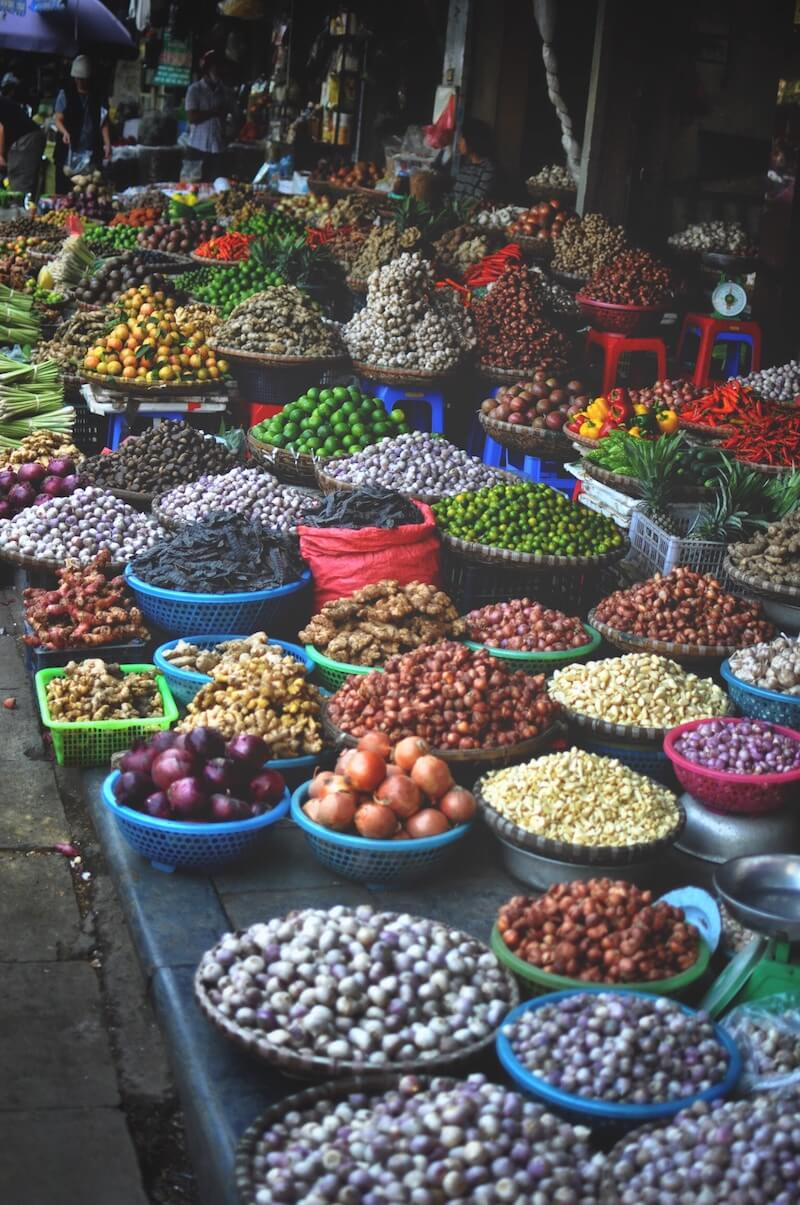 best market in Hanoi Vietnam