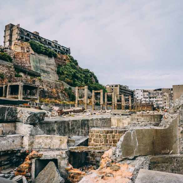 things to do in Hashima Gunkanjima Battleship island Nagasaki Japan