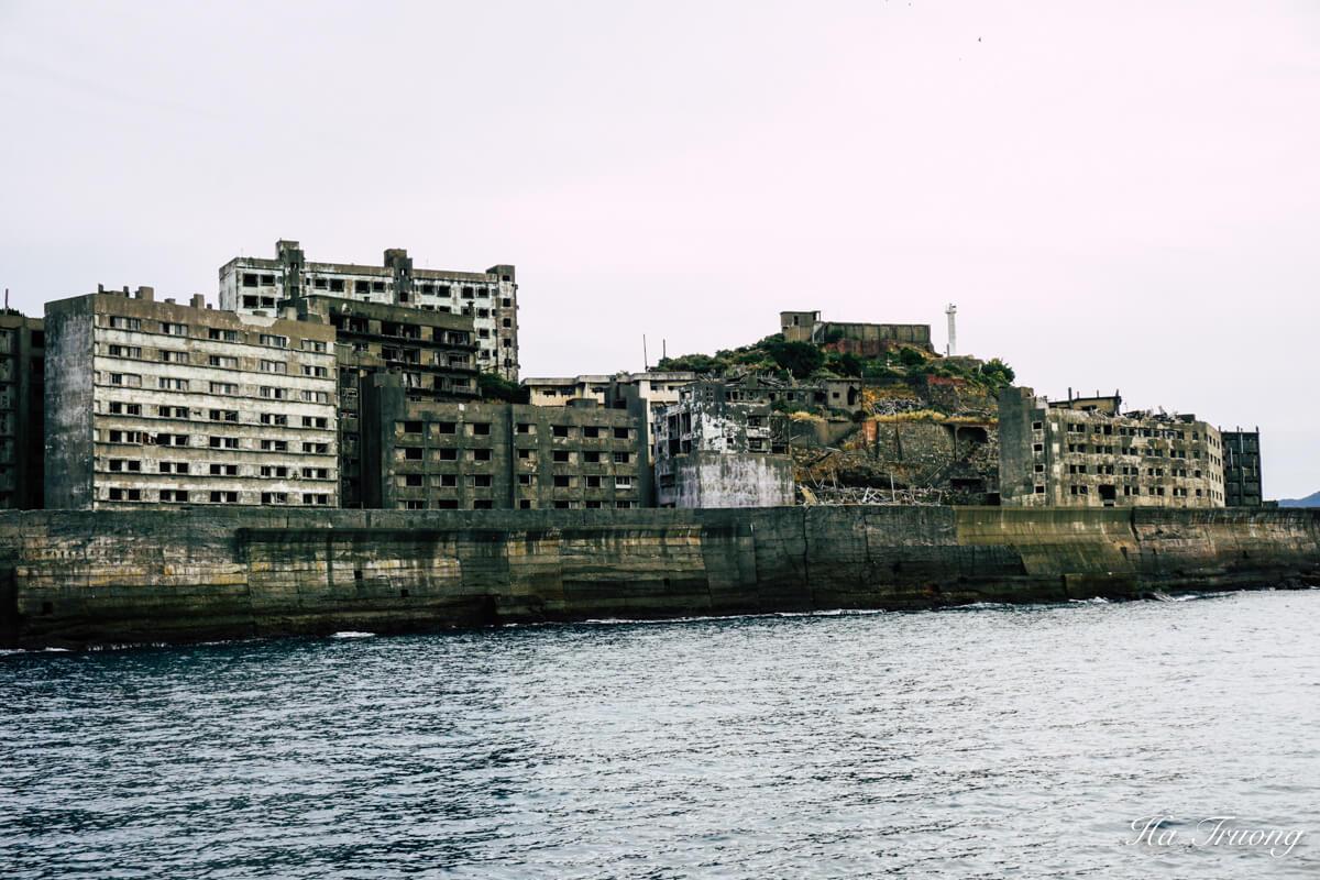 Hashima Gunkanjima Battleship island Nagasaki Japan