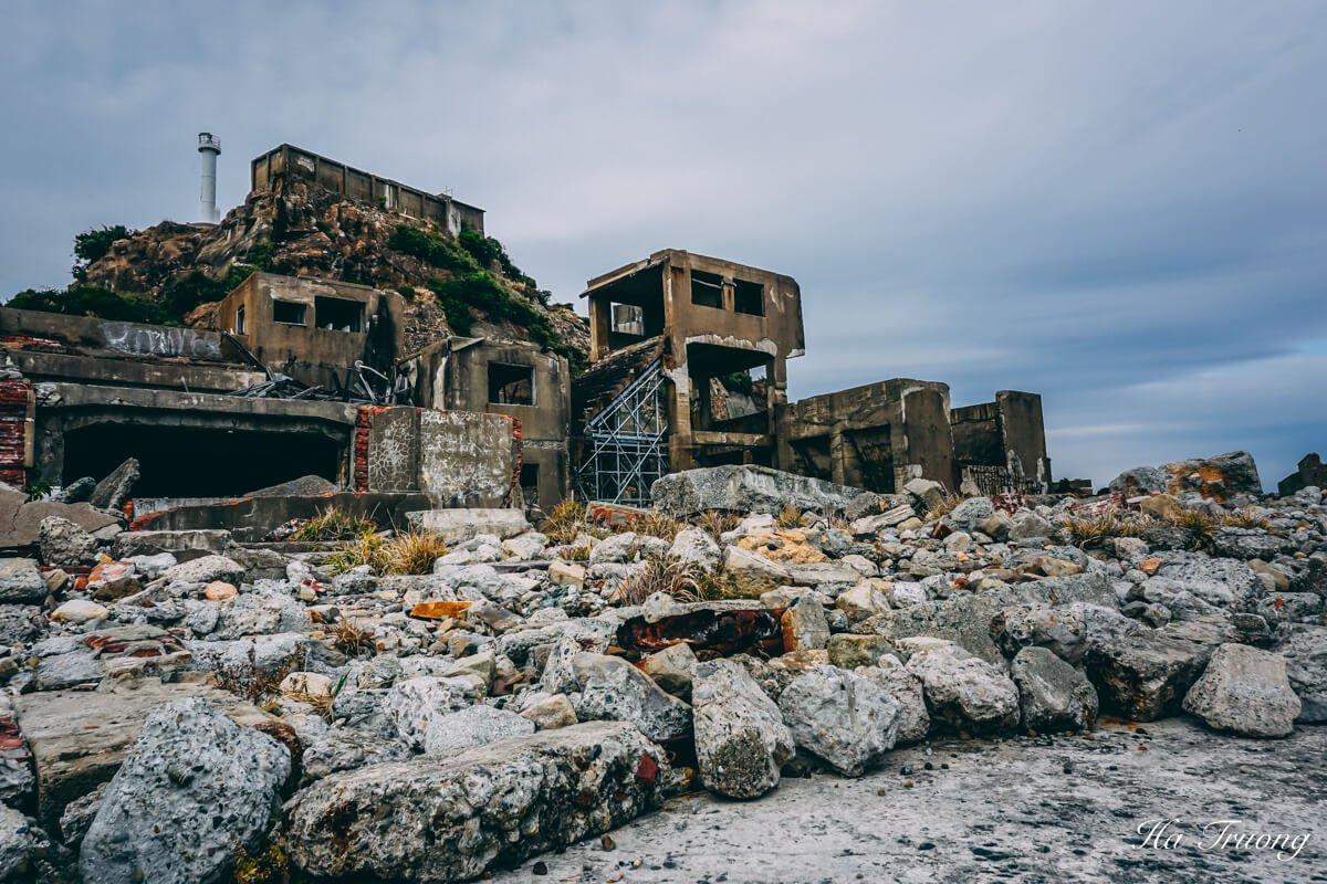 how to visit Hashima Gunkanjima Battleship island Nagasaki Japan