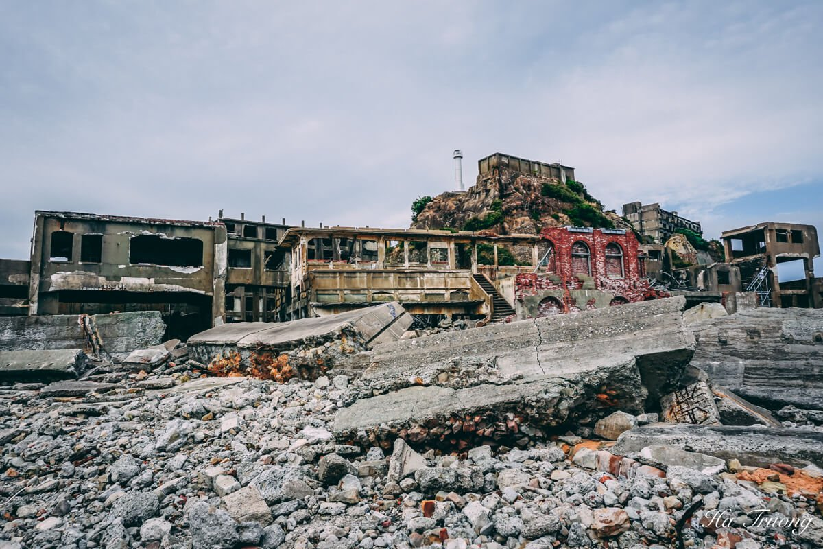 things to do in Hashima Gunkanjima Battleship island Nagasaki Japan