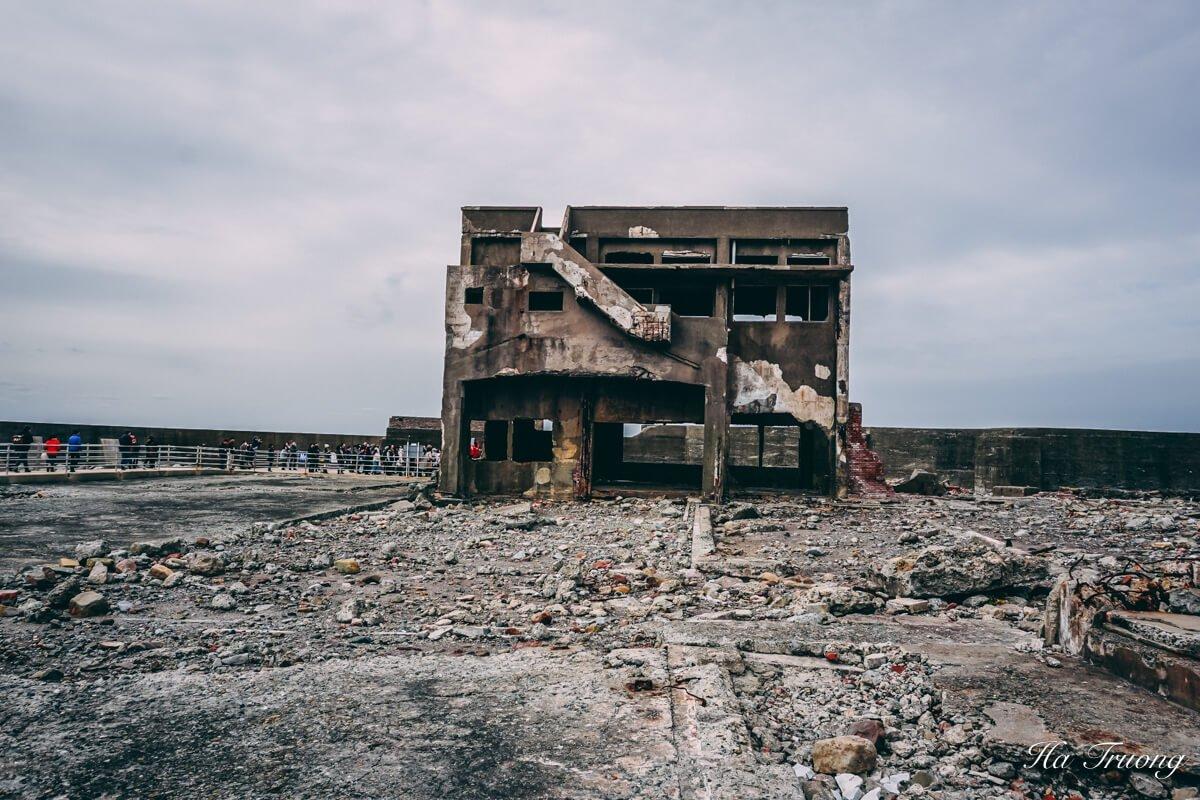 places to visit in Hashima Gunkanjima Battleship island Nagasaki Japan