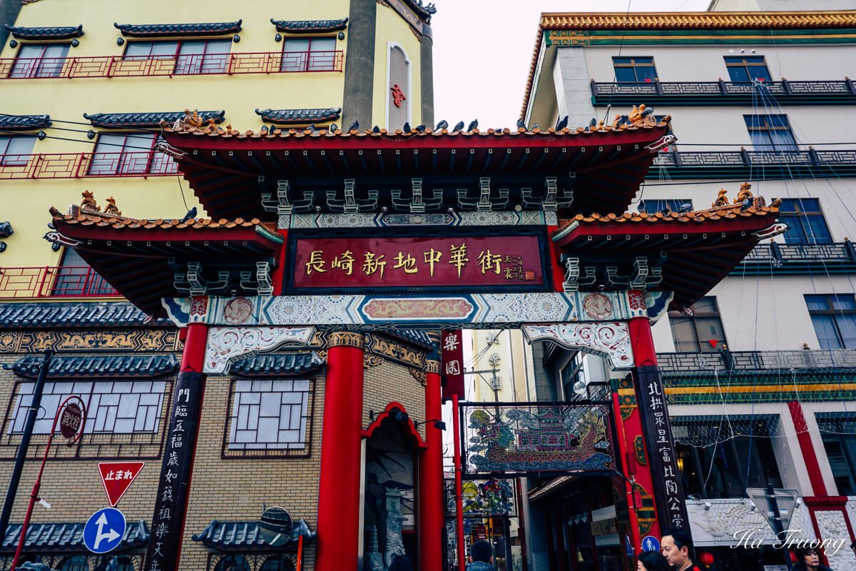 best things to do in Nagasaki - visit Chinatown