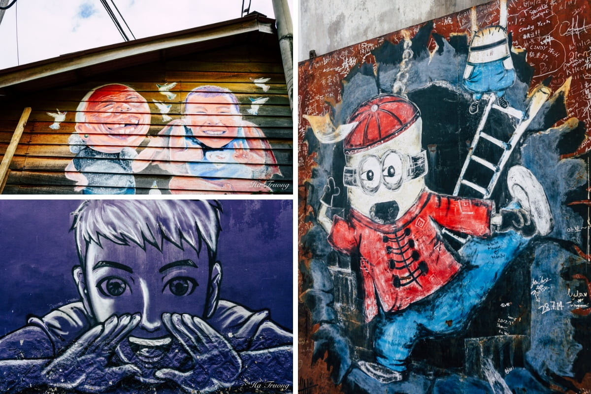 street art and graffiti in Penang Malaysia
