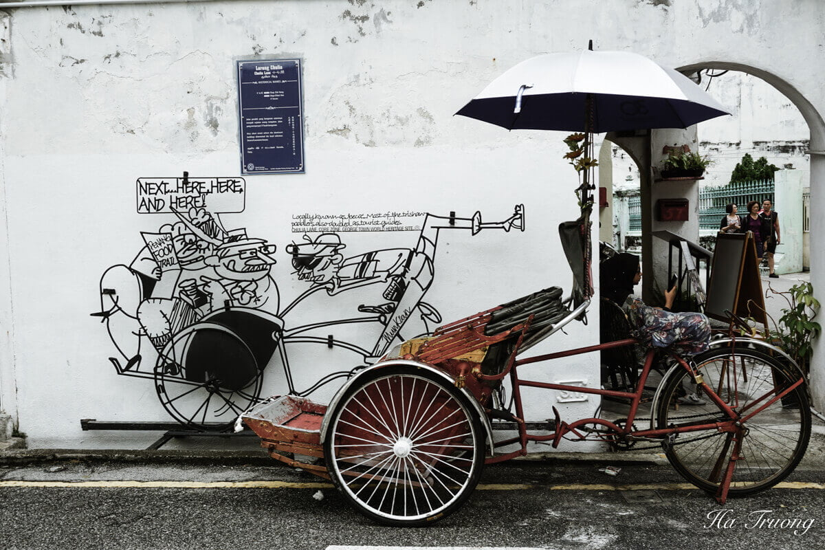 best Penang street art in GeorgeTown Penang Malaysia
