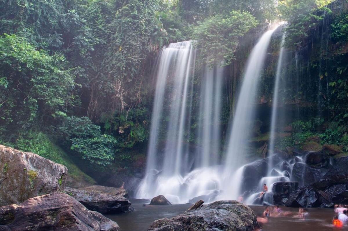 trek Kulen waterfalls Siem Reap