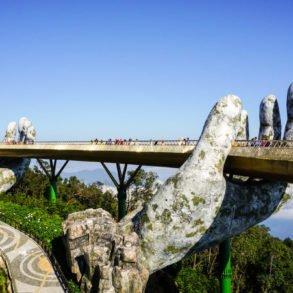 Ba Na Hills Golden Bridge Vietnam