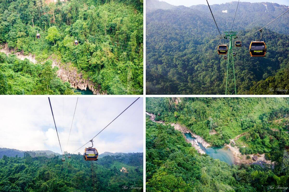 Ba Na Hills Vietnam cable car
