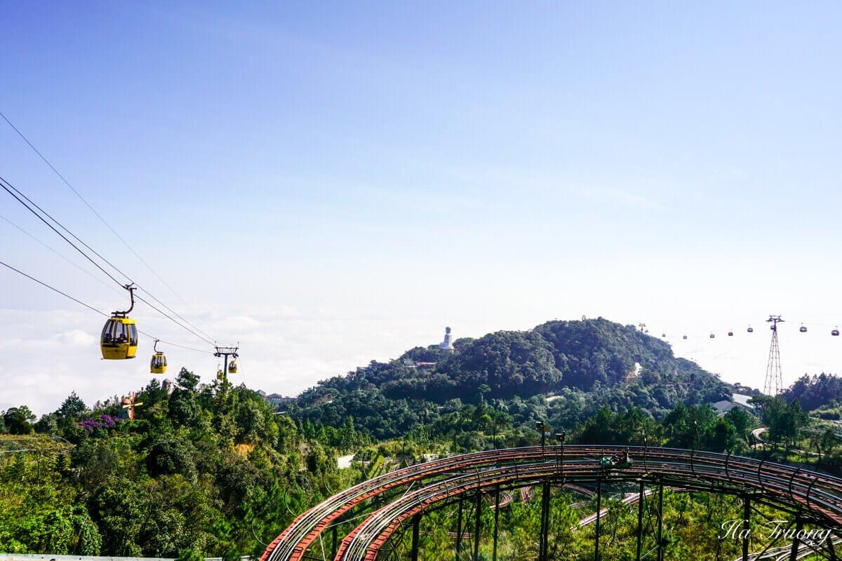 Ba Na Hills alpine coaster
