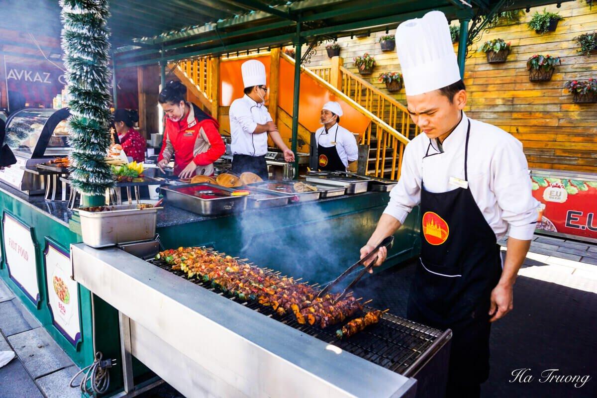 Ba Na Hills Vietnam restaurant