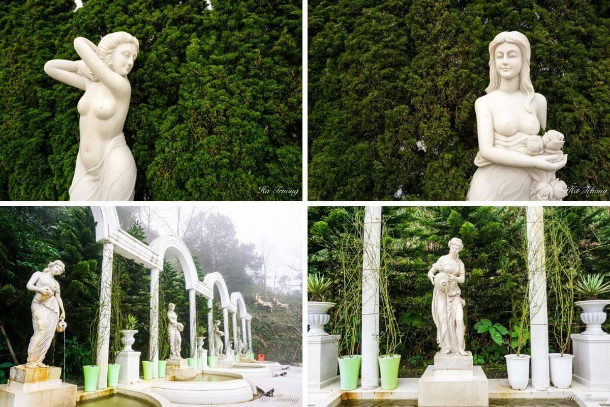Ba Na Hills statues