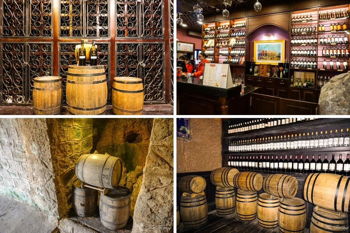 Ba Na Hills Debay Ancient Wine Cellar