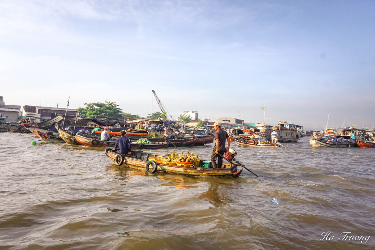 best things to do in Cai Rang floating market Can Tho Vietnam