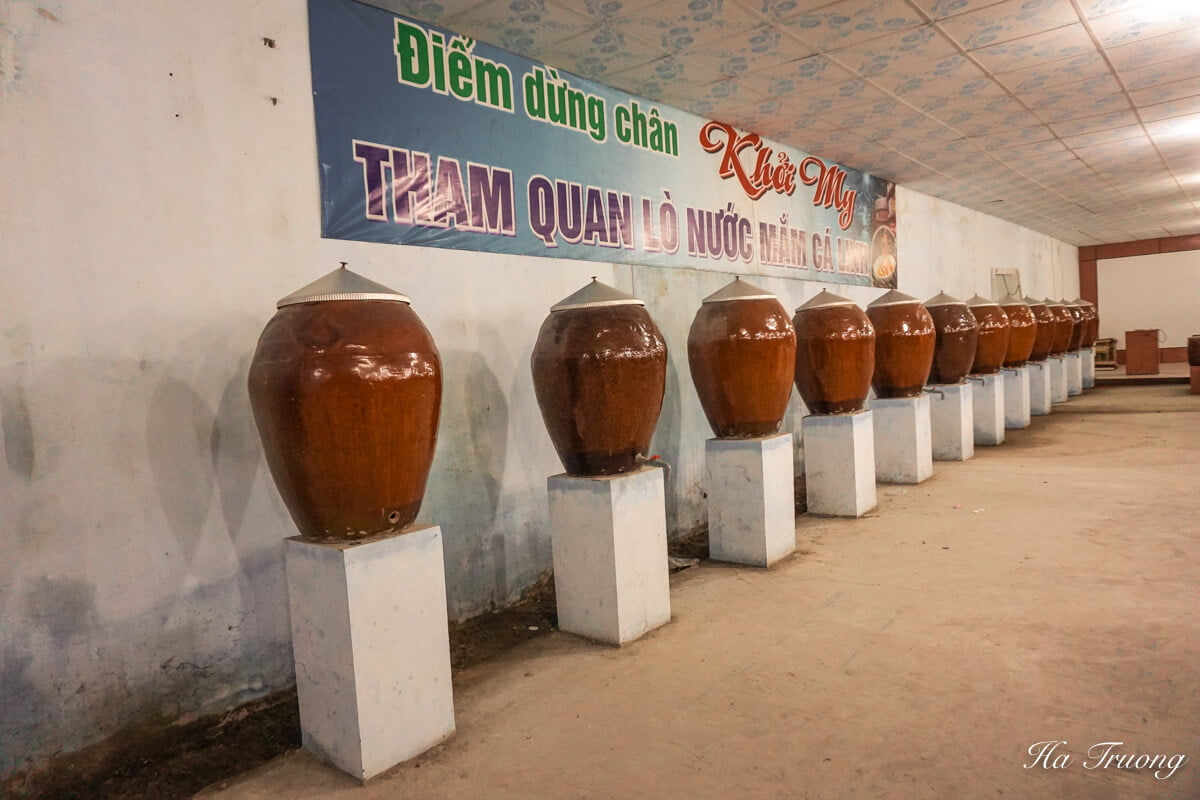 fish sauce factory in Can Tho Vietnam