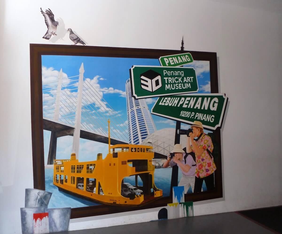 Penang Trick Art Museum Georgetown Penang Malaysia