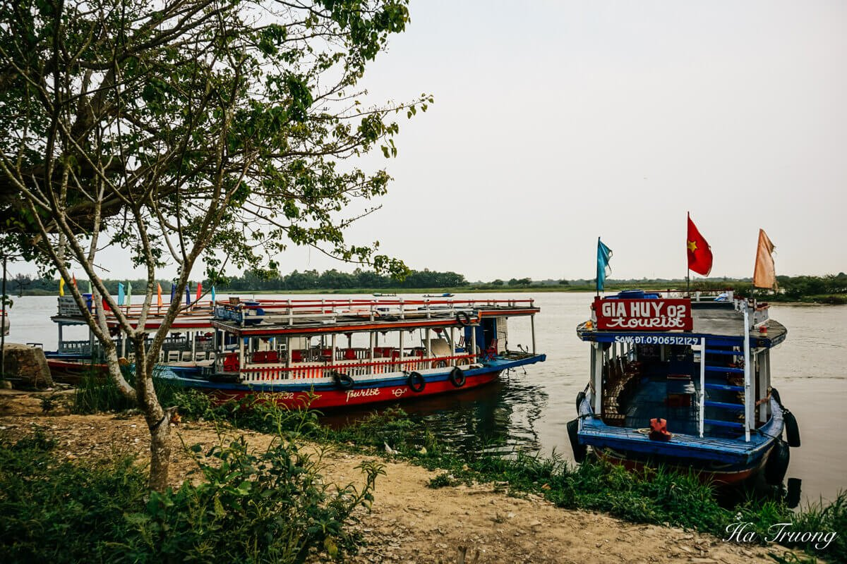 how to get to Thanh Ha Pottery Village from Hoi An Vietnam