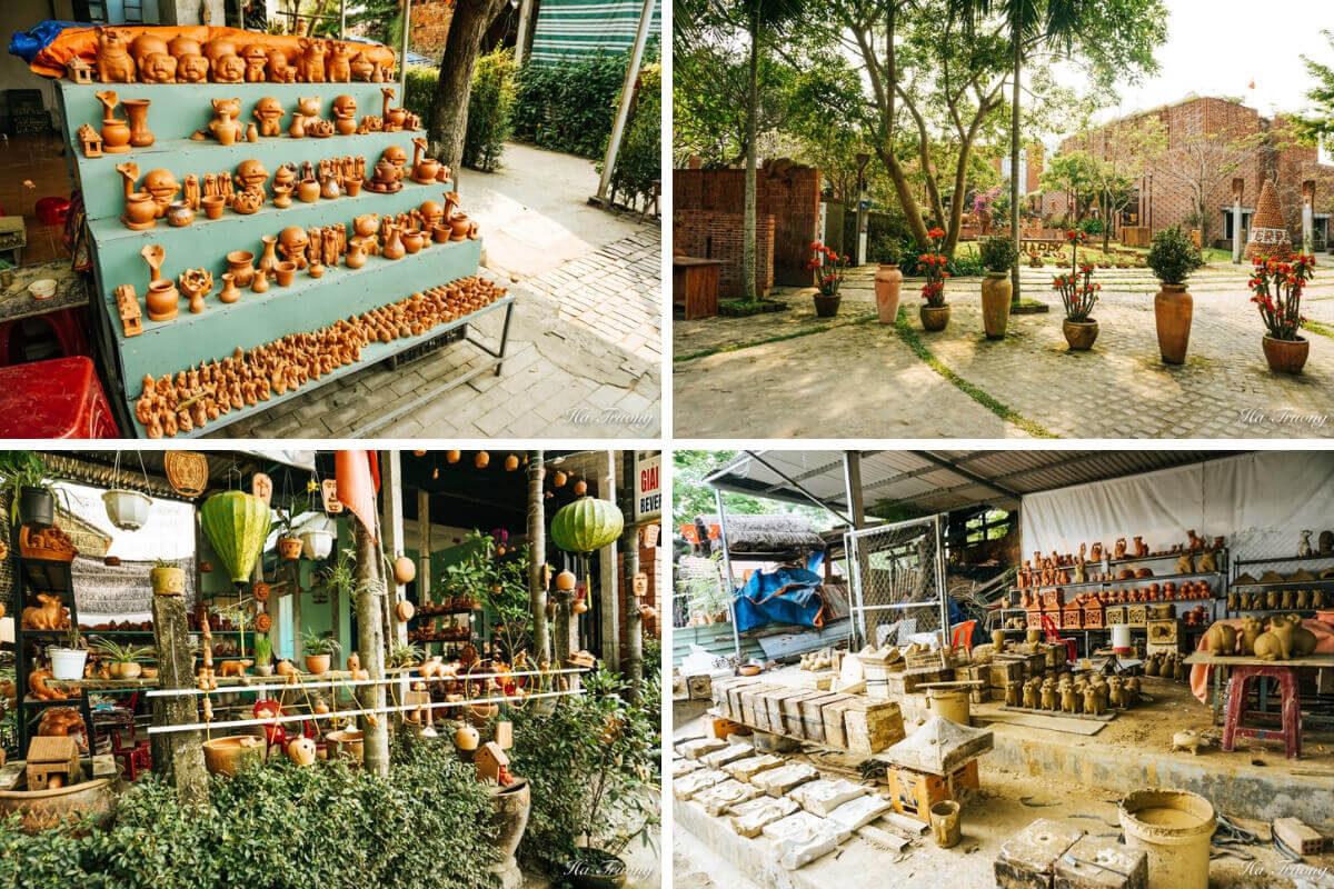 what to buy in Thanh Ha Pottery Village ceramic products