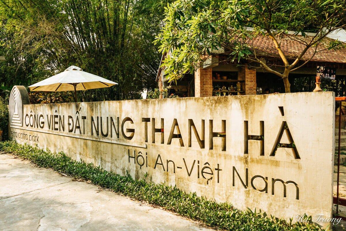 Thanh Ha Terracotta Park Hoi An Vietnam