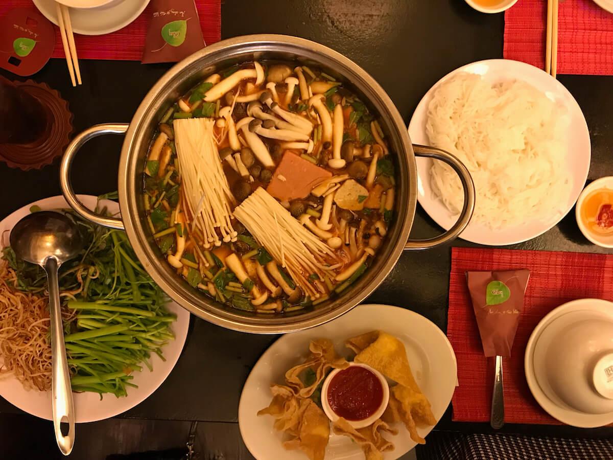 best vegetarian restaurants in Saigon Vietnam