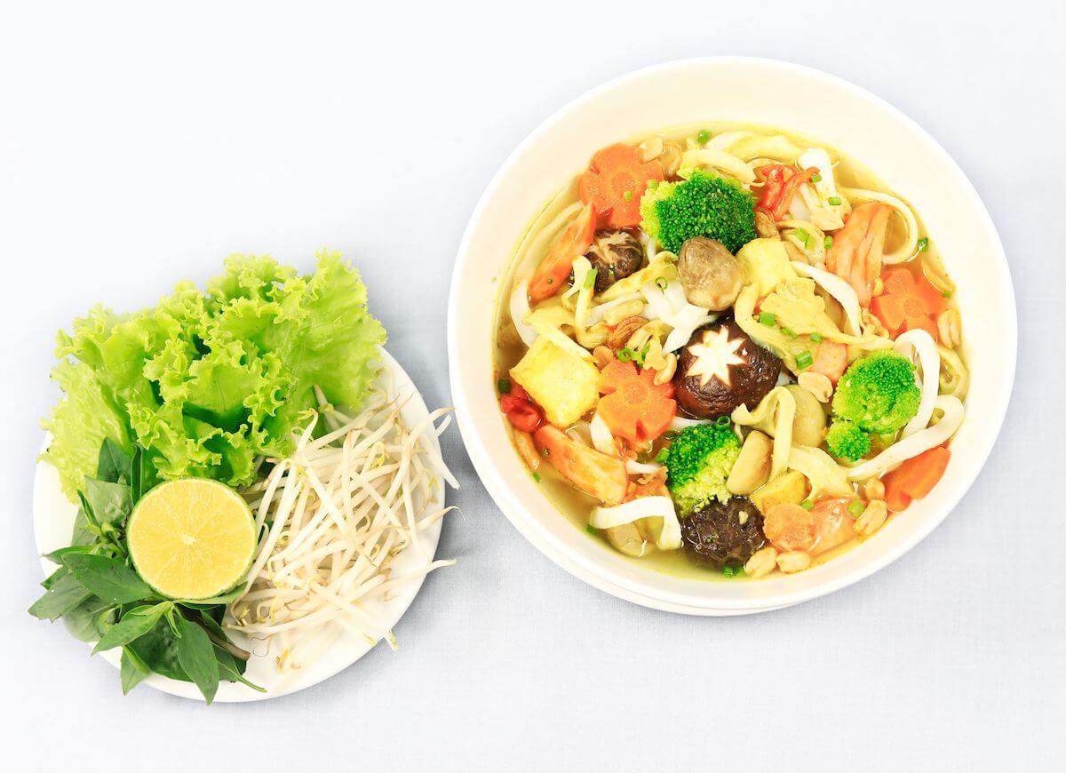 vegetarian food in Saigon guide