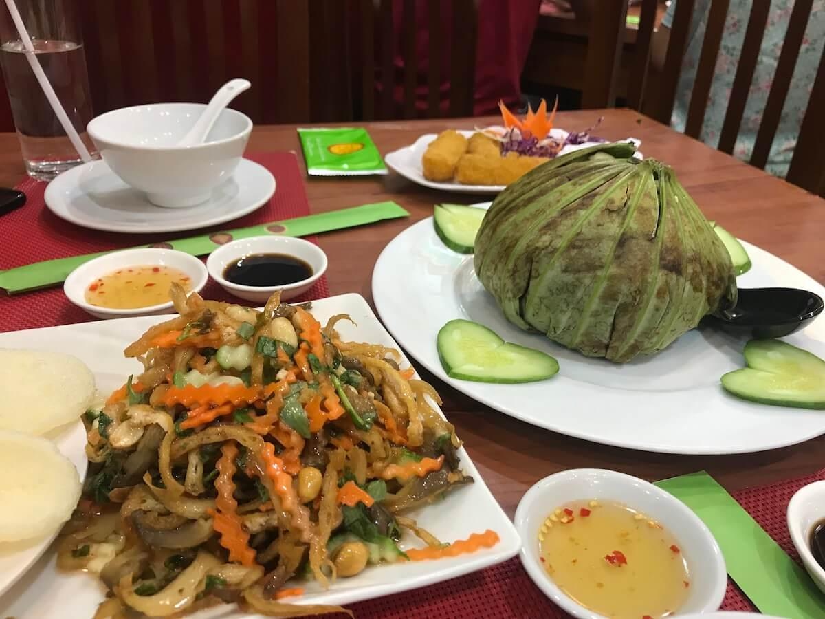best vegetarian restaurants in Ho Chi Minh city Vietnam