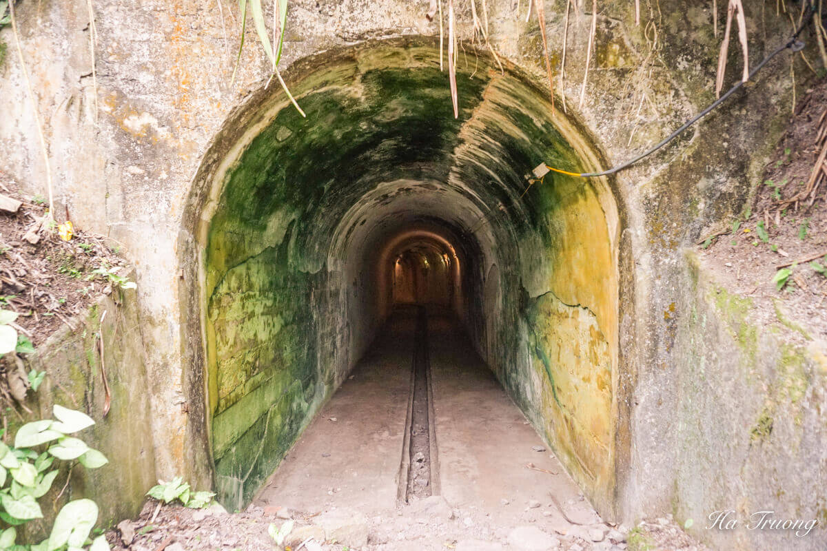 Cannon fort tunnel