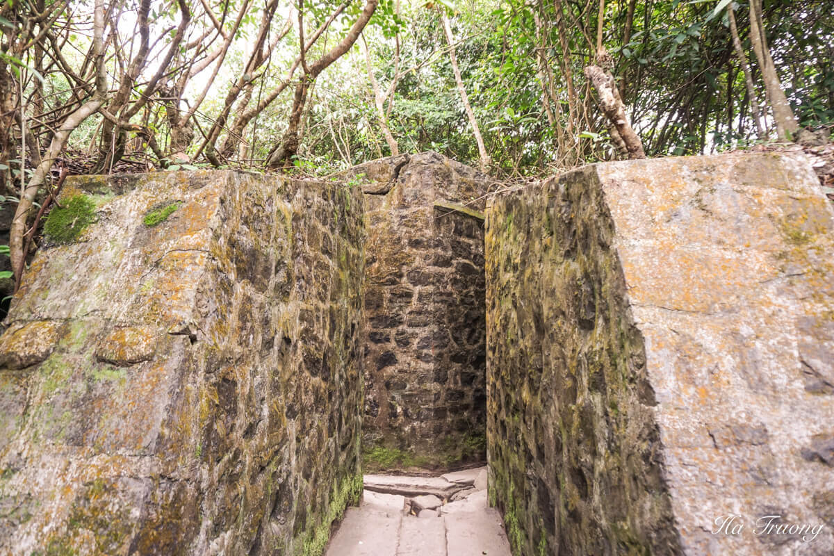Cannon fort walls